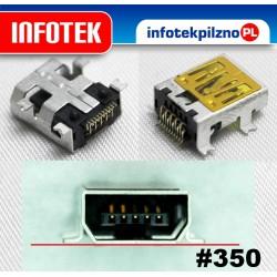 Gniazdo złącze mini USB 10 Pin GoClever, Lark, Motorola WX395, Alcatel