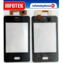 Nowy Digitizer ekran dotykowy dotyk Nokia Asha 501