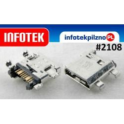 Gniazdo złącze micro USB samsung G350 G355 G386