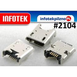 Gniazdo mikro micro USB Acer Iconia Tab B1-710